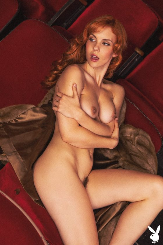 Kayla Coyote Nude In Center Stage Playboy Model Photos